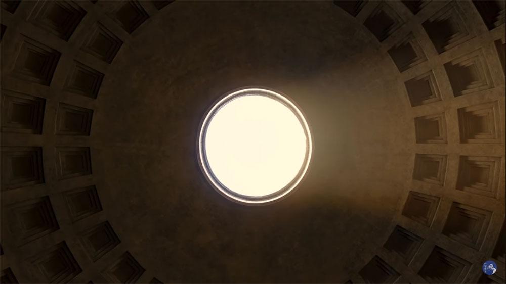 MiBACT, un video esclusivo mostra il Natale di Roma al Pantheon