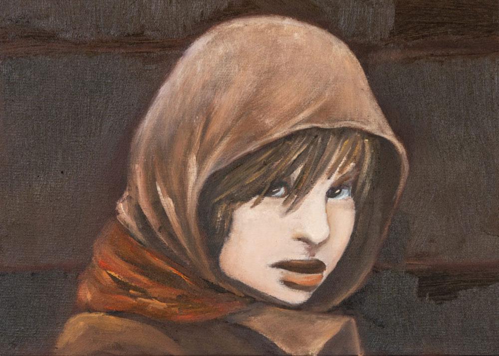 Ritratti di bambini per ricordare le vittime della Shoah. In mostra la Niñez rubata