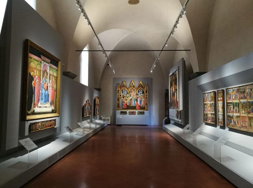 Completamente riallestita la nuova Sala del Beato Angelico. Ecco come si presenta