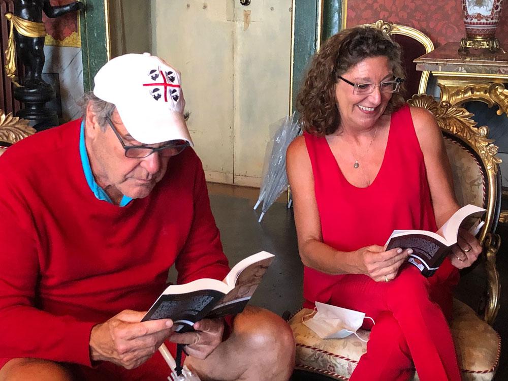 Visita privata per il regista Oliver Stone a Casa Leopardi