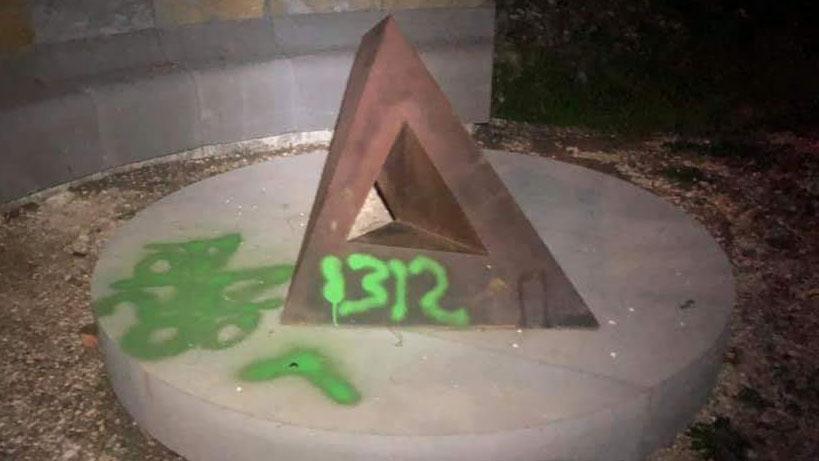 Vandalismo nel Parco di Beverly Pepper a Todi: imbrattate alcune opere