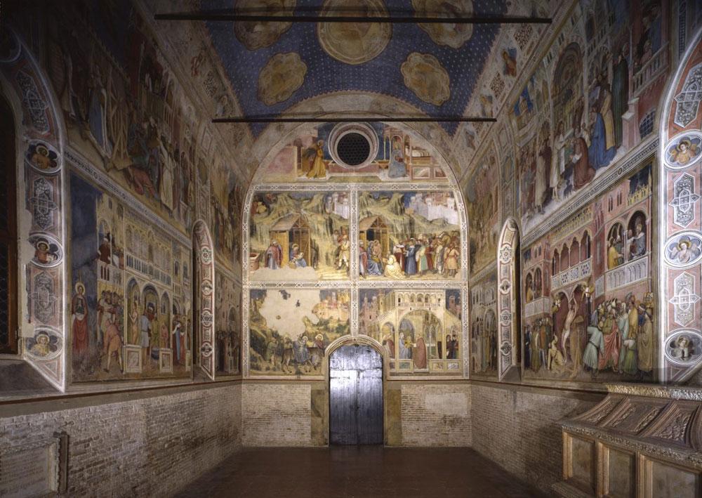 Padova, nuova illuminazione per l'Oratorio di San Giorgio