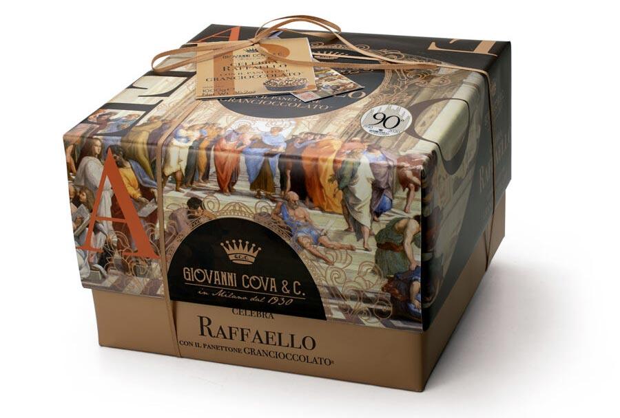 Pasticceria milanese crea panettoni con in regalo libro su Raffaello e ingressi al museo