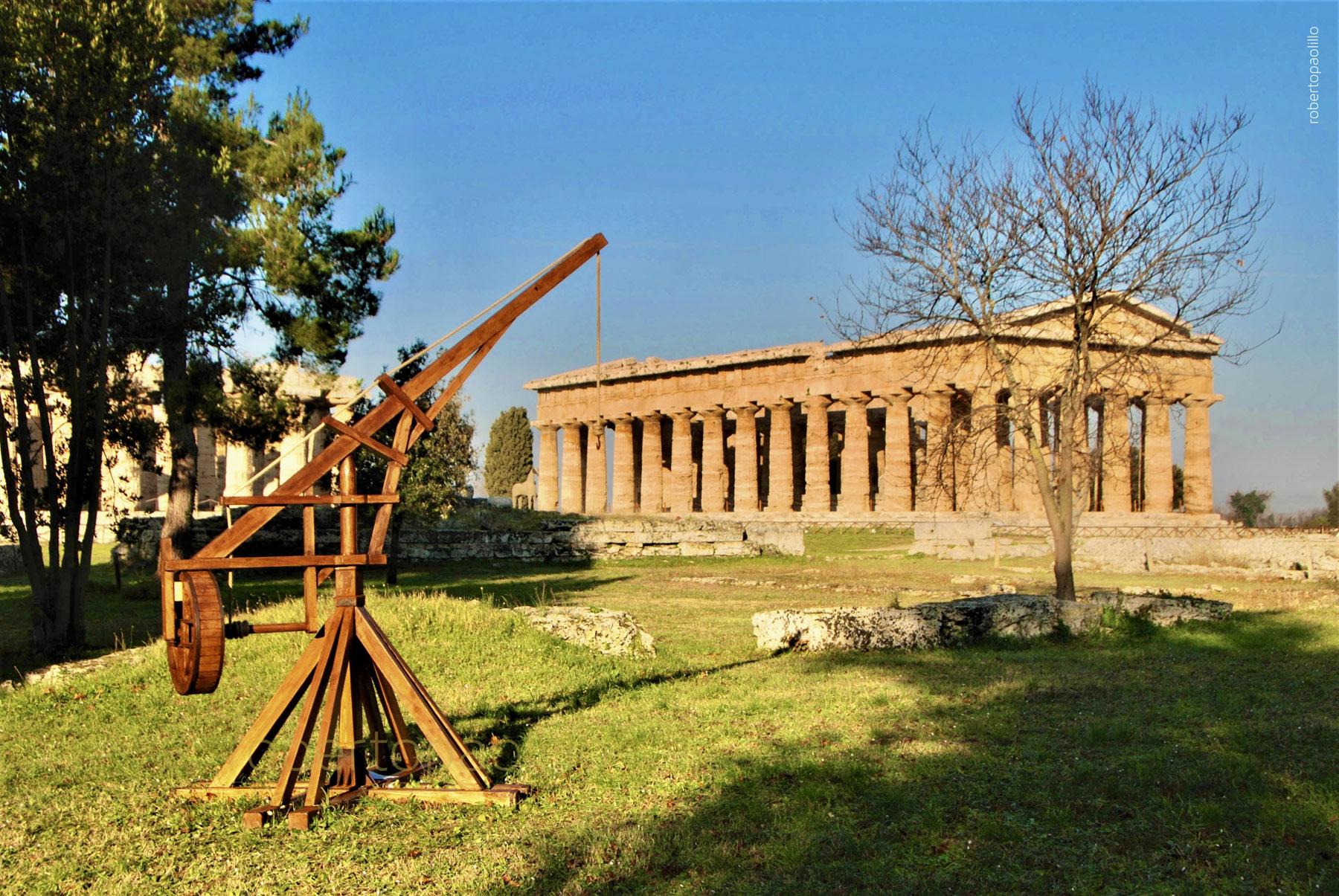 Al Parco Archeologico di Paestum nasce il Parco dei Piccoli, un parco giochi a tema archeologico vicino ai templi