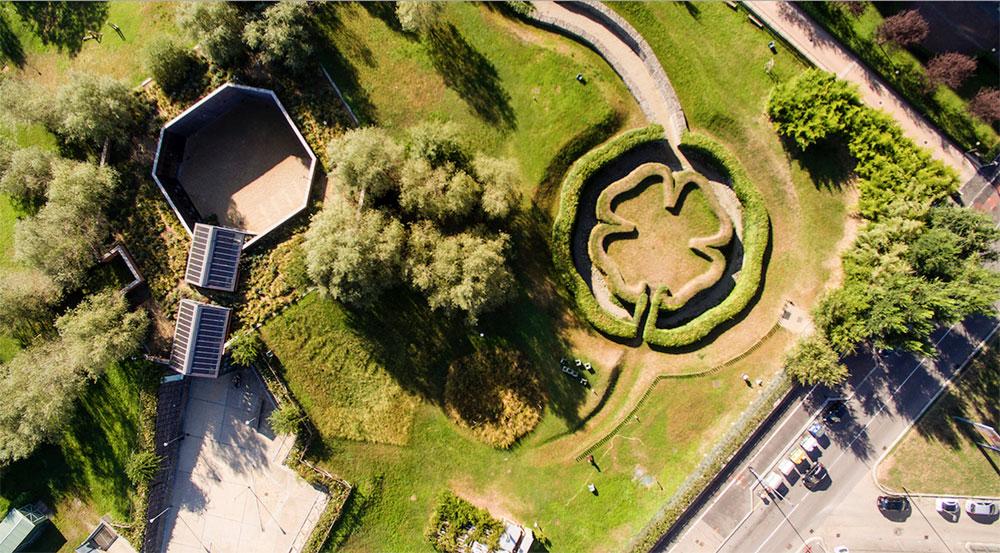 Riaperto il Parco Arte Vivente di Torino con le sue installazioni ambientali