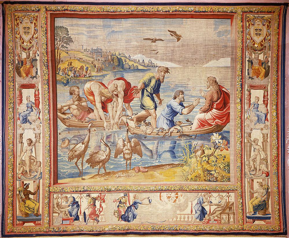 La storia degli arazzi raffaelleschi di Palazzo Ducale di Mantova raccontata in mostra