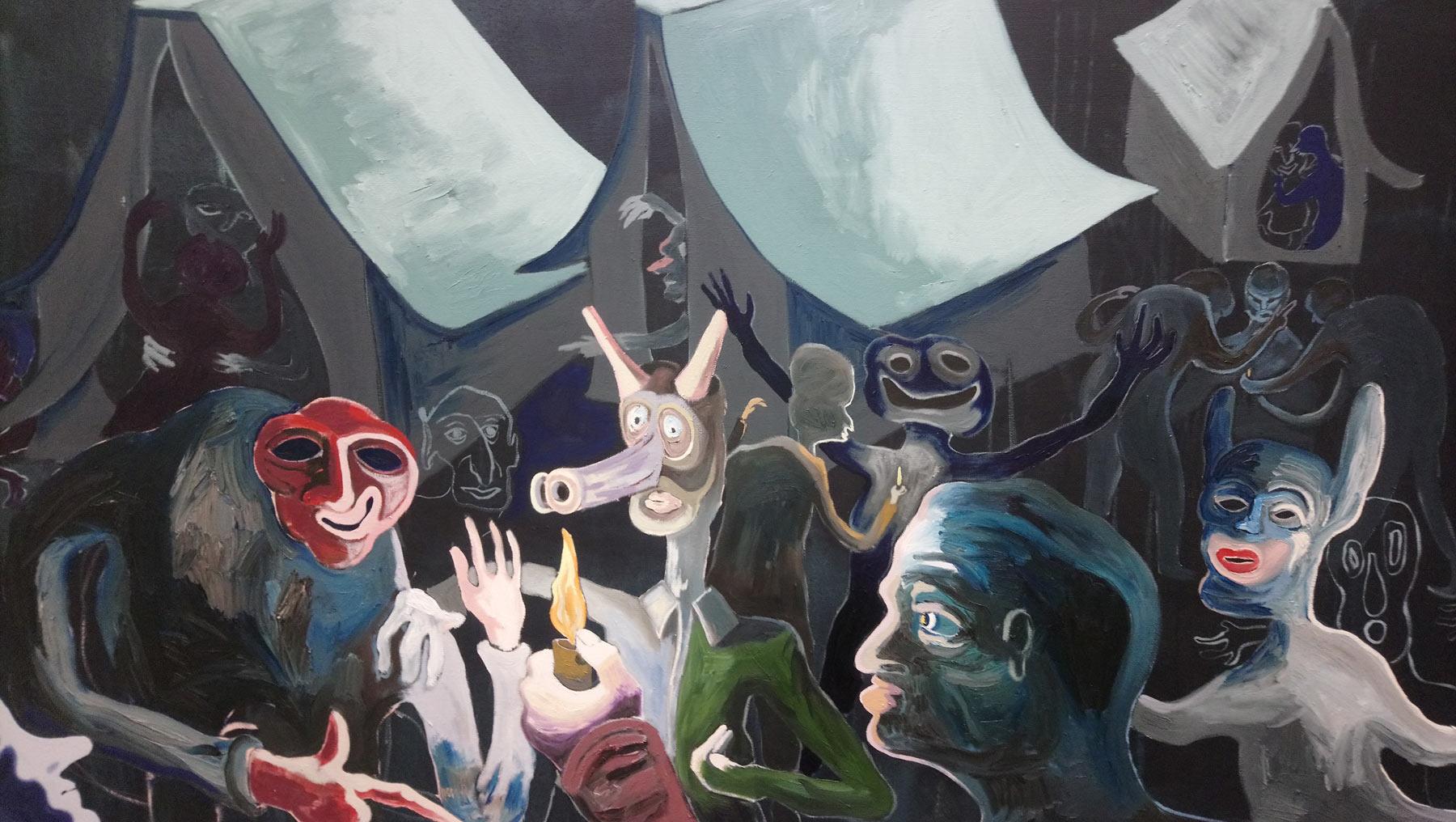 Arte Fiera 2020 focus 1/3: Eduardo Secci, la pittura di Chris Hood e Pierre Knop