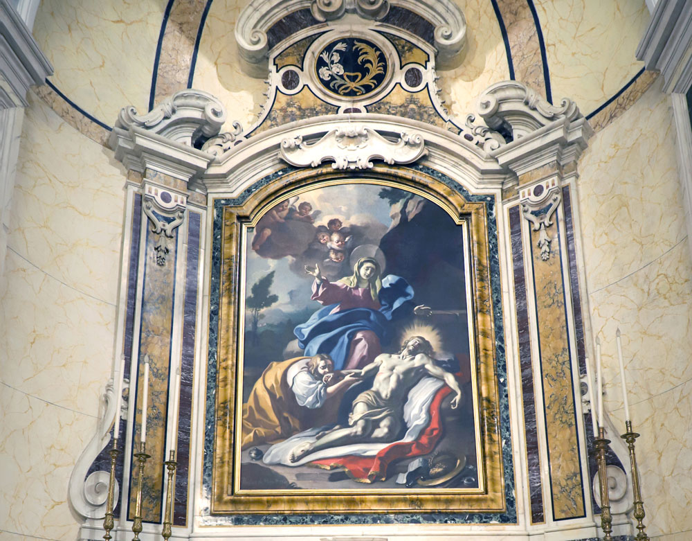 Restaurata la Pietà della Cattedrale di Foggia