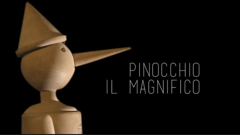 Pinocchio compie 139 anni e diventa... il Magnifico in un cortometraggio