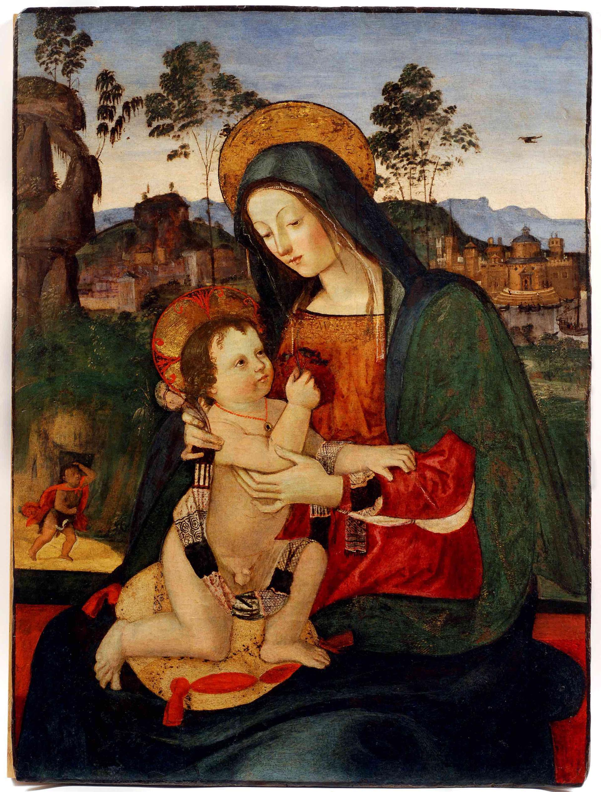 A Perugia una mostra su Raffaello e l'Umbria, che è sia digitale sia... reale