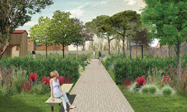 Rimini avrà il suo giardino d'arte e poesia con stanze naturali
