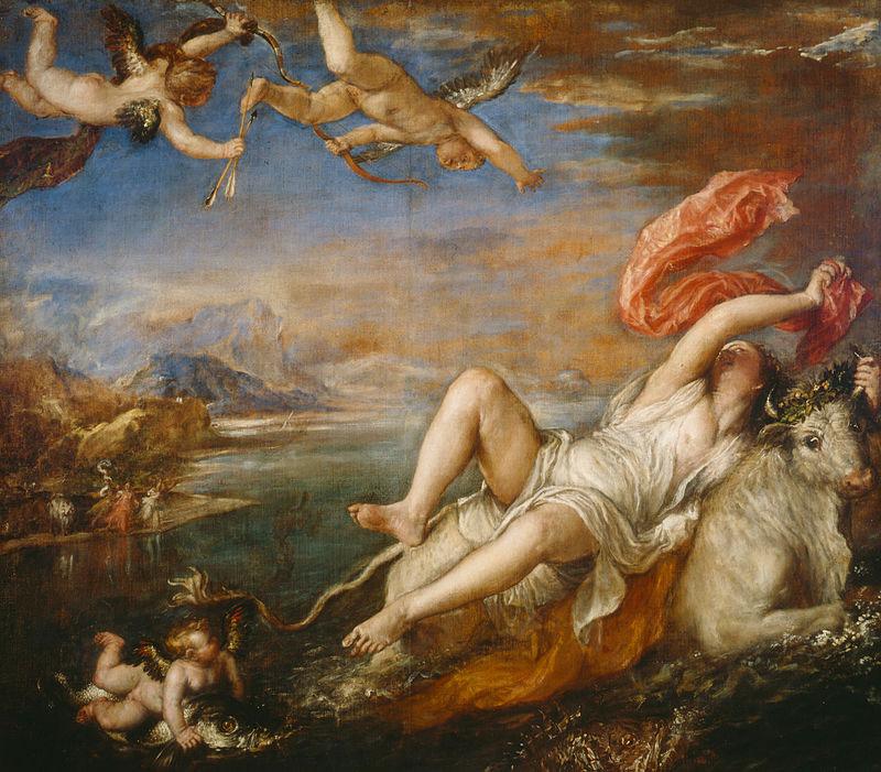 Riunito alla National Gallery di Londra l'intero ciclo delle opere più sensuali di Tiziano. Per la prima volta dal 1704