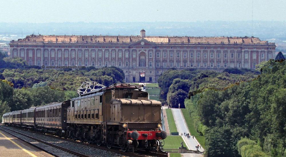 Da Napoli a bordo di un treno storico. Destinazione Reggia di Caserta