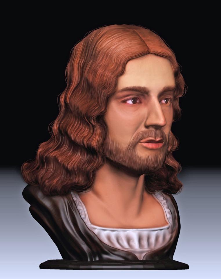 Ecco com'era il volto di Raffaello. Ricostruito in 3D l'aspetto del pittore