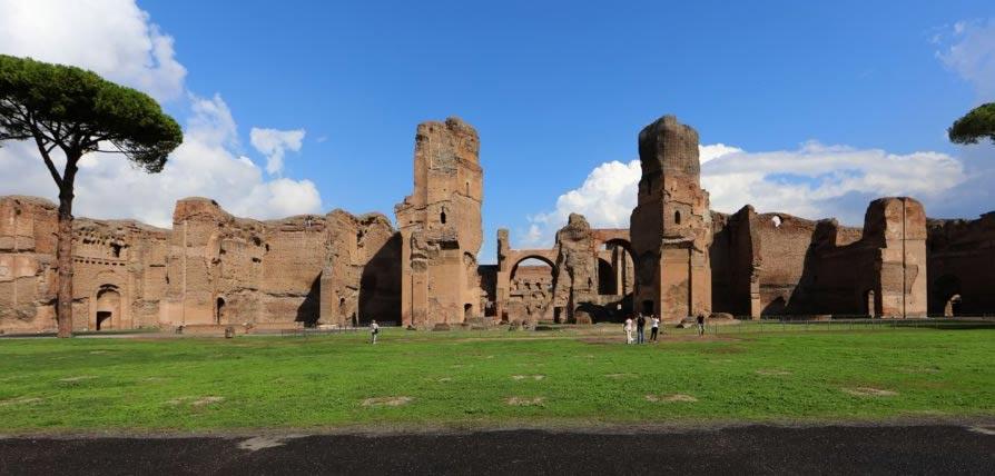 """A Roma le Terme di Caracalla diventano """"set"""" della Divina Commedia"""