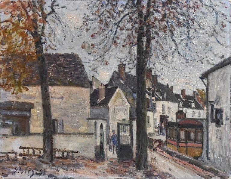 Riscoperto un dipinto di Sisley rimasto a una famiglia francese per ben 130anni