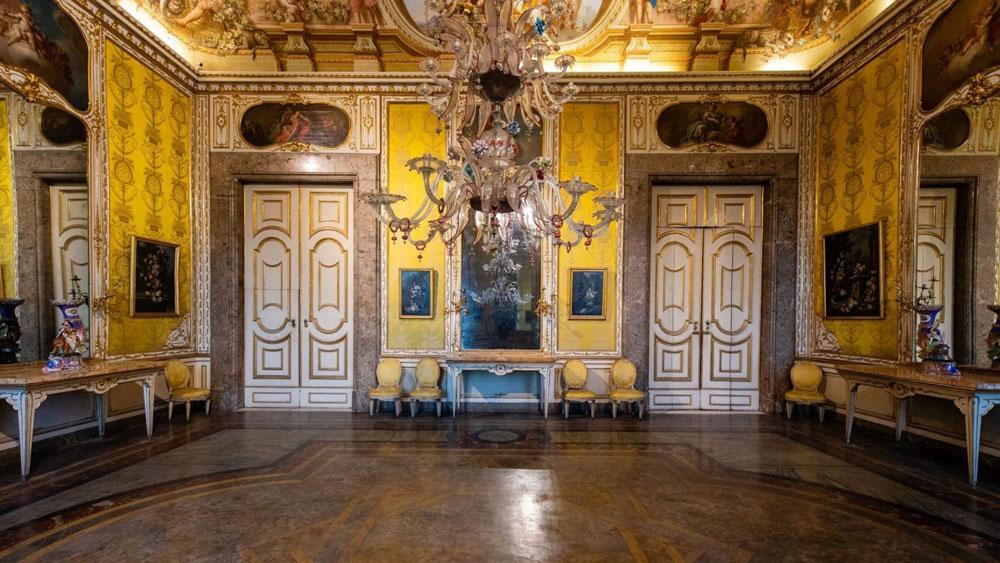 Reggia di Caserta, sarà di nuovo visibile la Saletta del Calapranzo