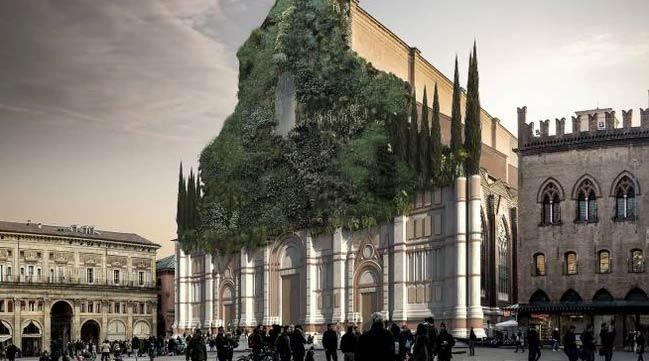 L'archistar Cucinella propone di completare la facciata di San Petronio con un bosco