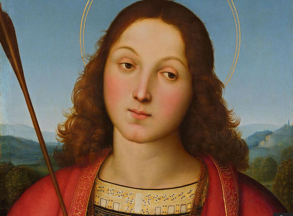 Il San Sebastiano di Raffaello in gigapixel per apprezzare i più piccoli dettagli