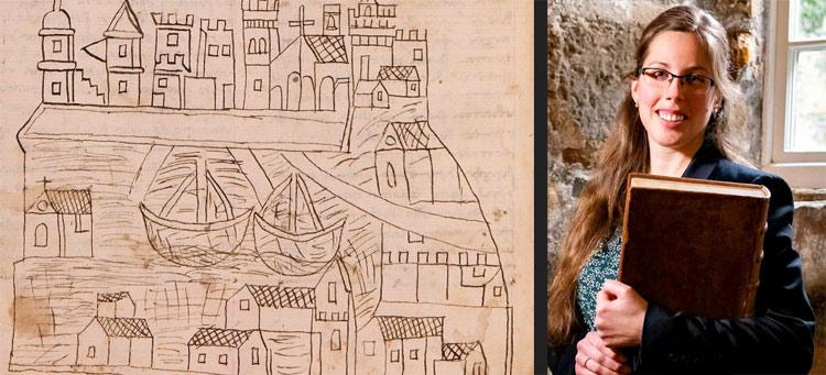Storica dell'arte italo-olandese emigrata in Scozia scopre il più antico disegno che raffigura Venezia