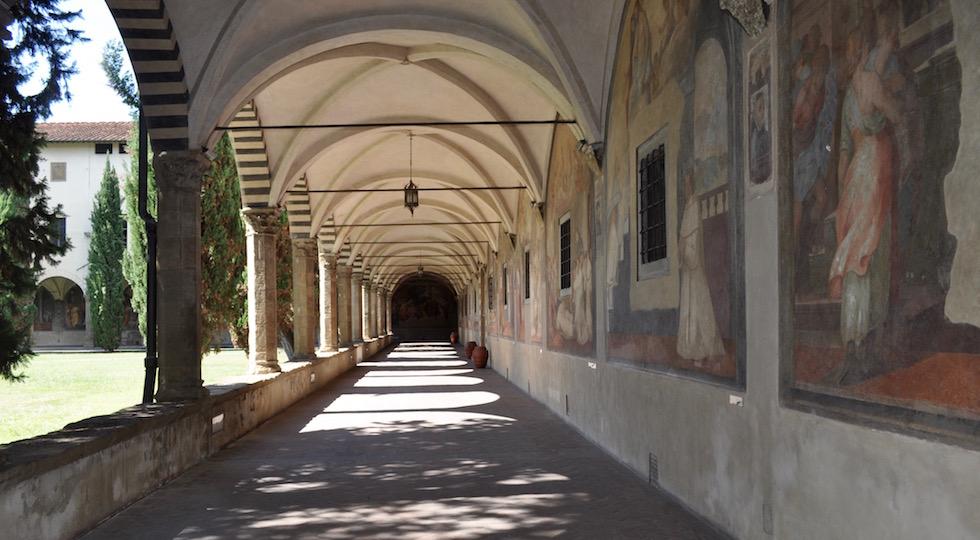 Firenze, nota azienda che produce marmellate finanzia i restauri al Chiostro Grande di Santa Maria Novella