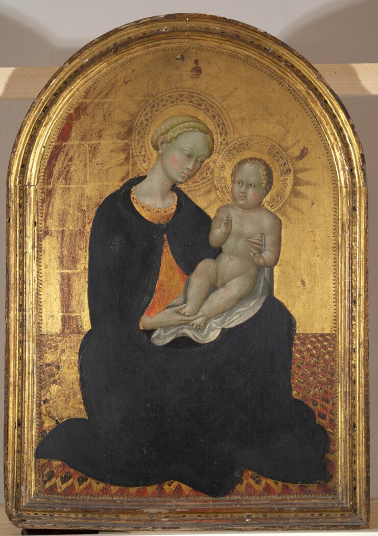 Siena, il FAI sostiene il restauro della Madonna col Bambino del Sassetta