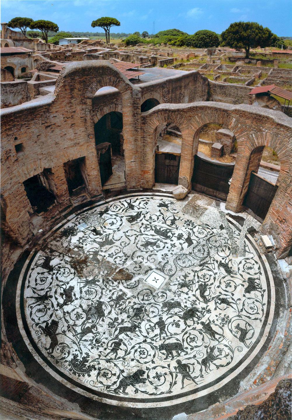 Ostia Antica, la più grande e ben conservata città romana, torna accessibile liberamente dal 2 giugno