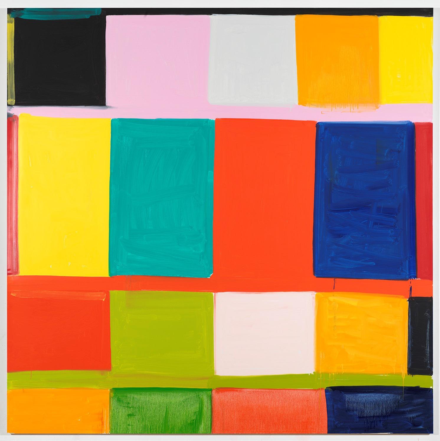 Da Gagosian Roma una mostra di nuovi dipinti di Stanley Whitney