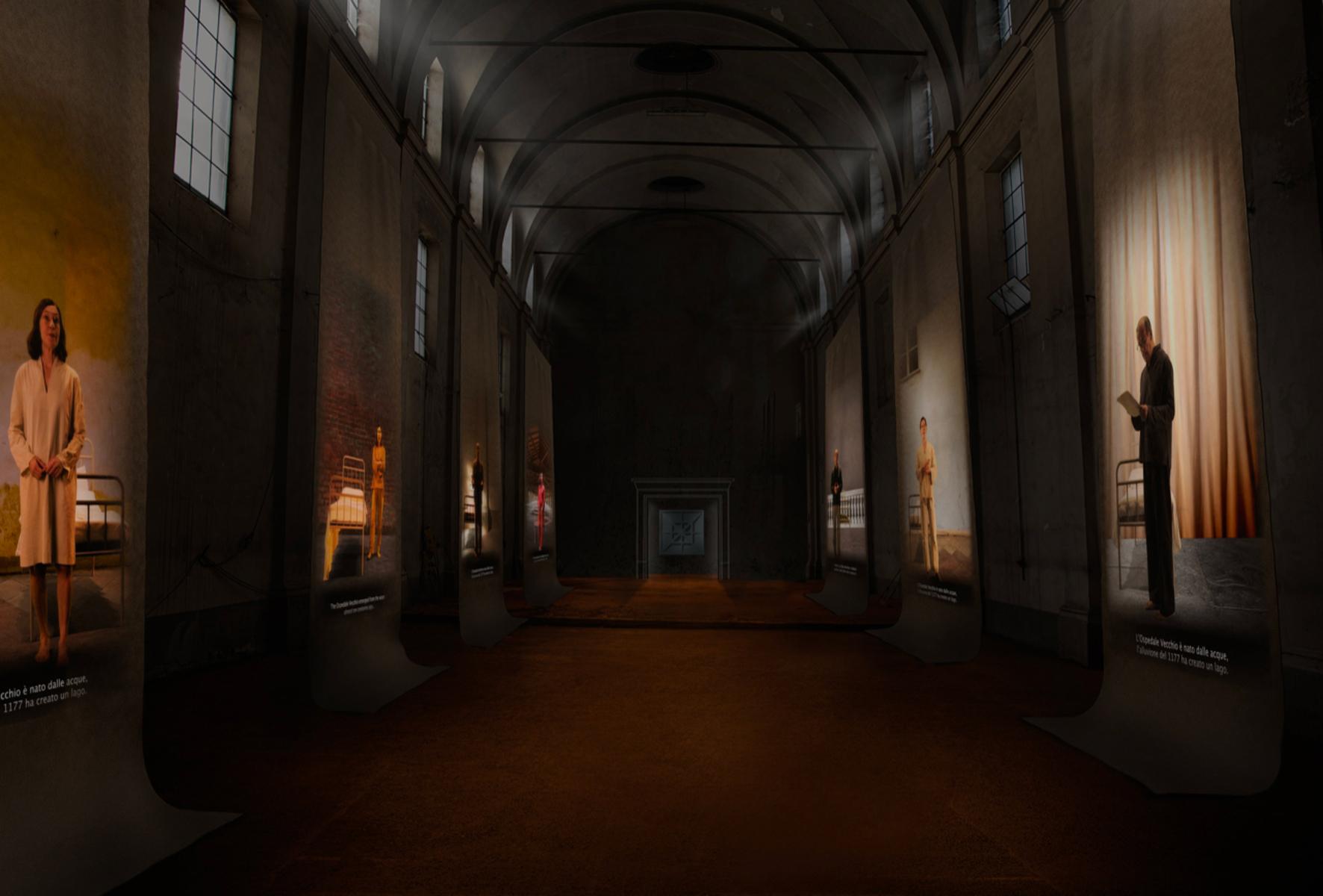 L'antico Ospedale di Parma diventa un'enorme installazione di Studio Azzurro