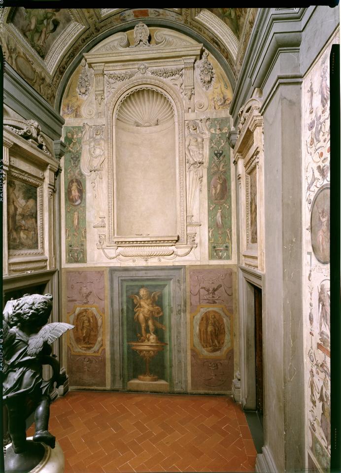 Firenze, termina a Palazzo Vecchio il restauro del Terrazzo di Giunone, che torna a ospitare il Putto del Verrocchio