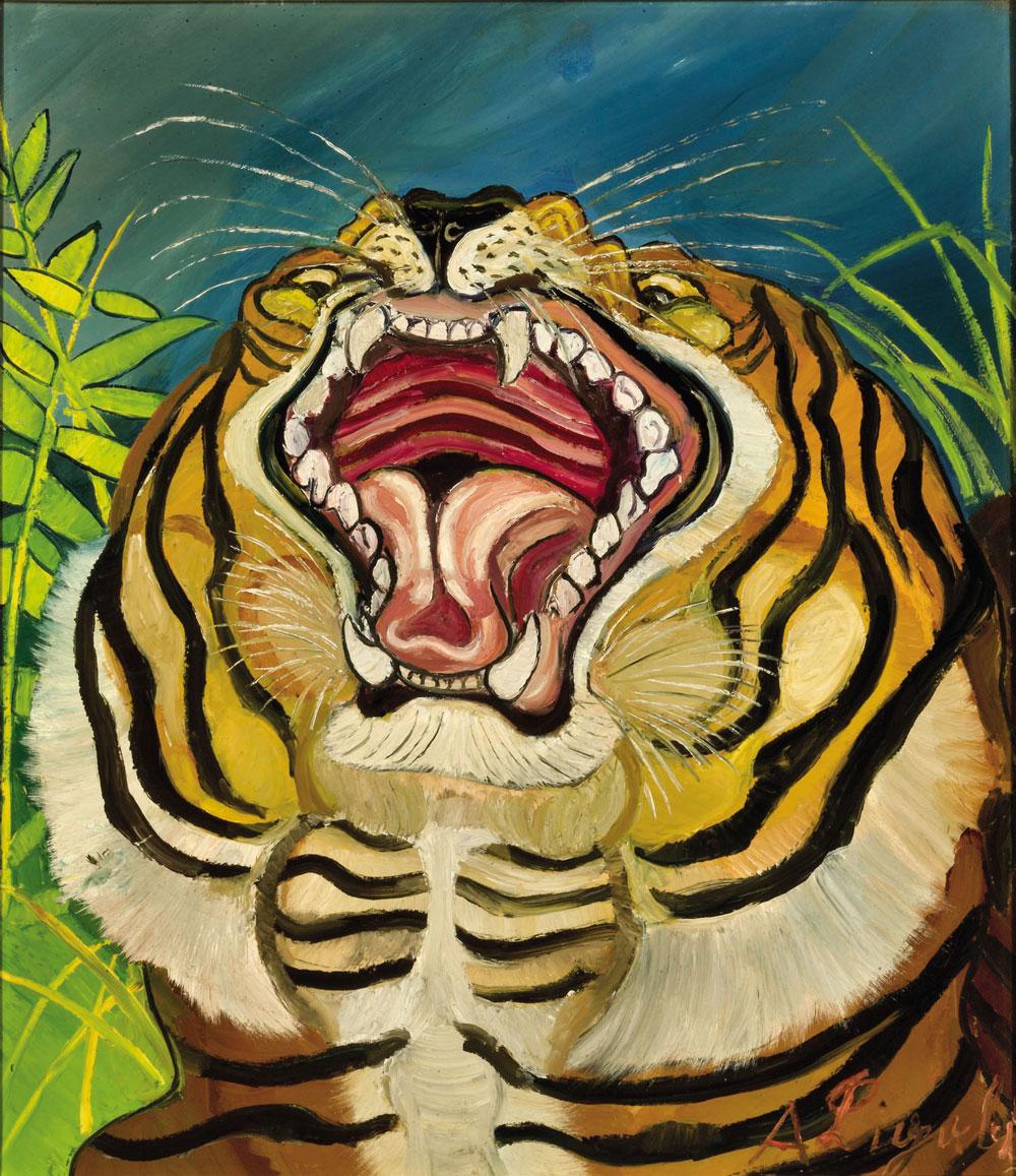 Una grande mostra dedicata a Ligabue, tra animali selvatici e autoritratti. Da settembre a Parma