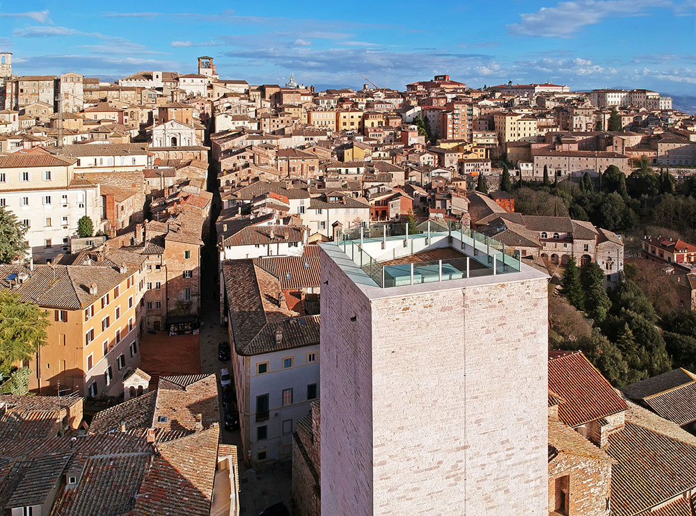 Perugia, riaperta la Torre degli Sciri restaurata con fondi europei