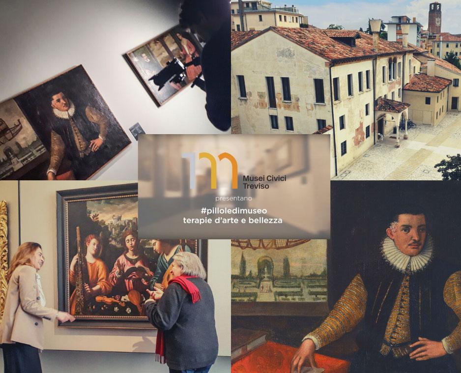 I Musei Civici di Treviso si raccontano sui social con #pilloledimuseo