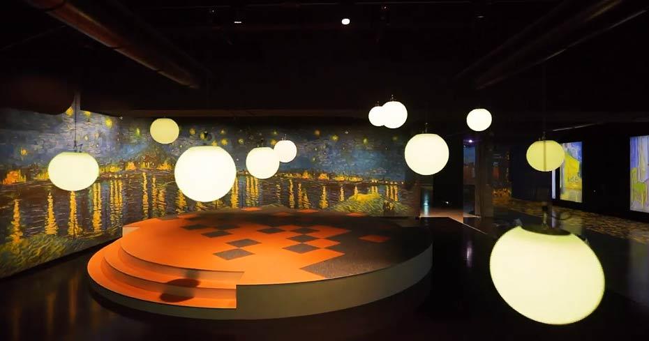 Sta per aprire a Gorizia la prima arena permanente per show multimediali. Il primo su Van Gogh