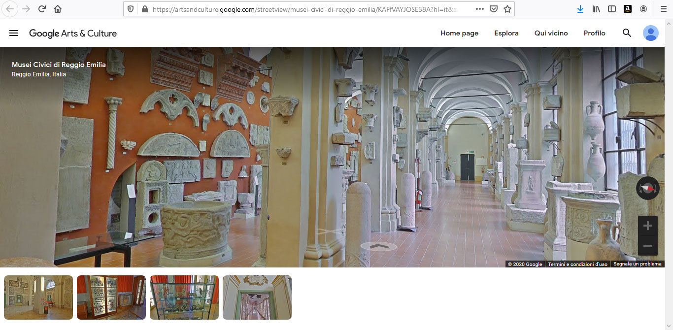 Le mostre dei Musei Civici di Reggio Emilia si visitano online: ecco come (e vale anche per i musei stessi)