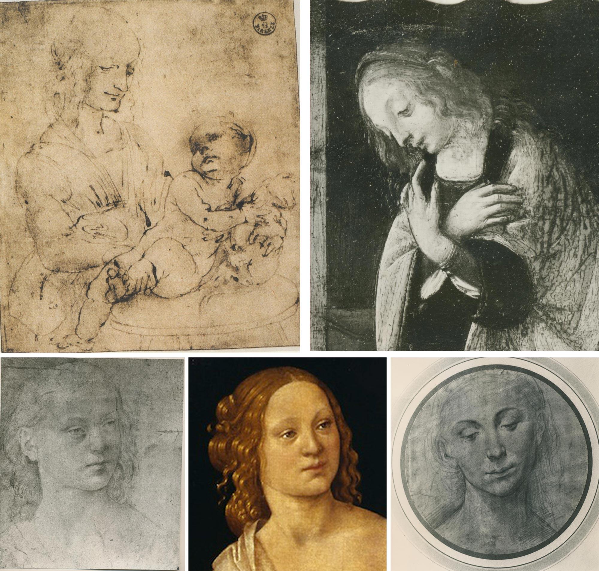 Confronto tra Leonardo da Vinci e Lorenzo di Credi