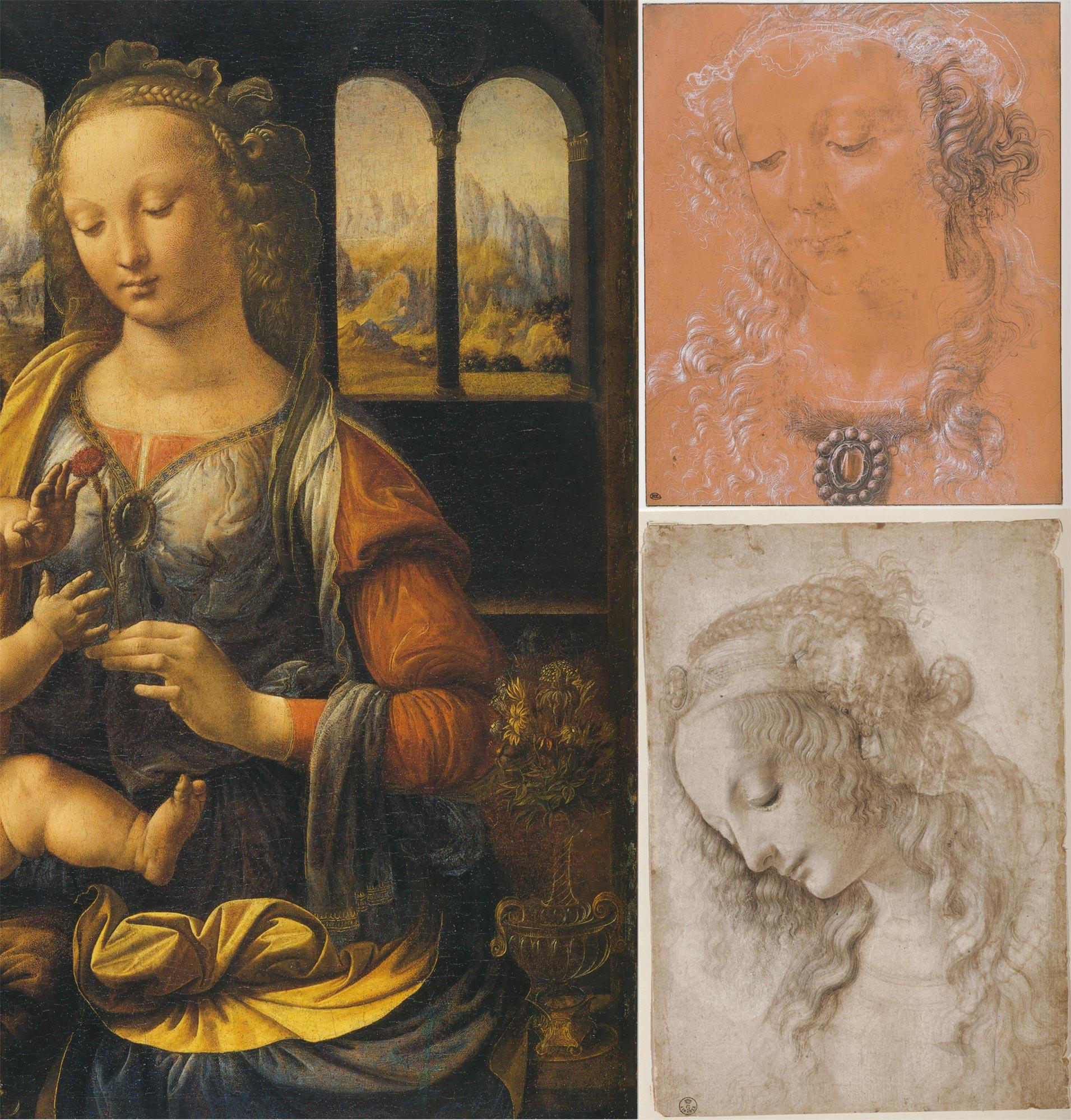 Confronto tra opere di Leonardo