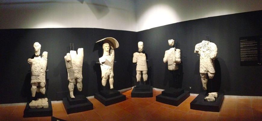 I Giganti di Mont'e Prama al Museo di Cabras
