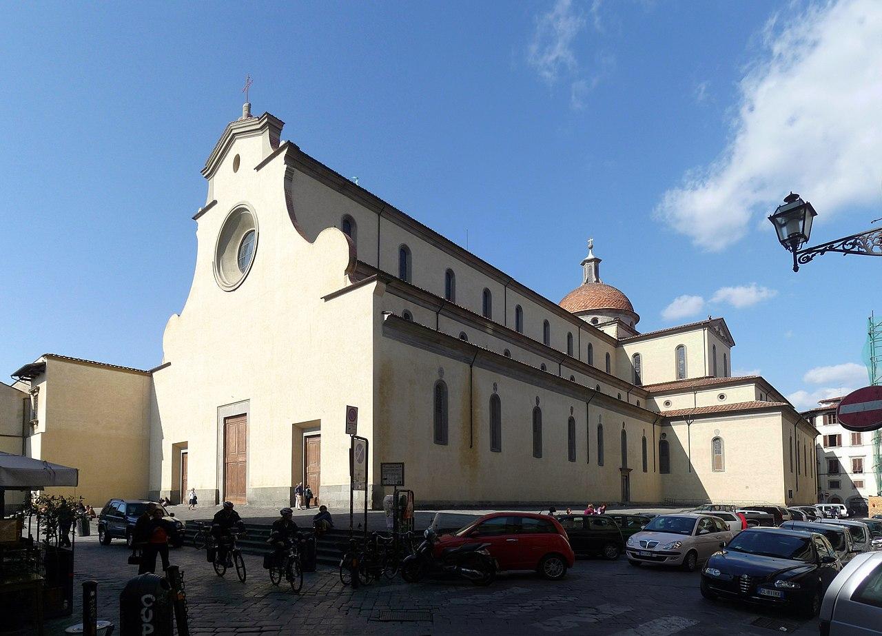 La basilica di Santo Spirito a Firenze. Foto Lucarelli