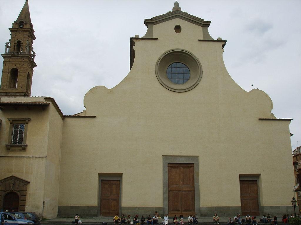 La facciata di Santo Spirito. Foto Francesco Bini