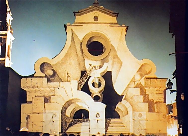 Mario Mariotti, Piazza della Palla