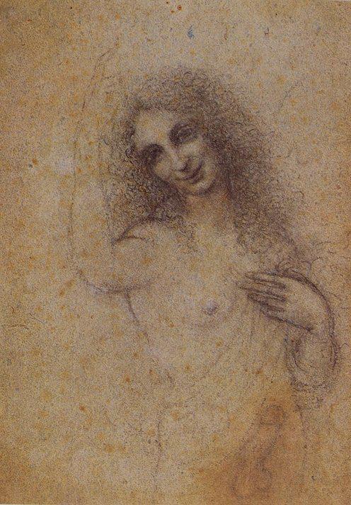 L'angelo incarnato, conservato presso la Fondazione Rossana & Carlo Pedretti di Lamporecchio
