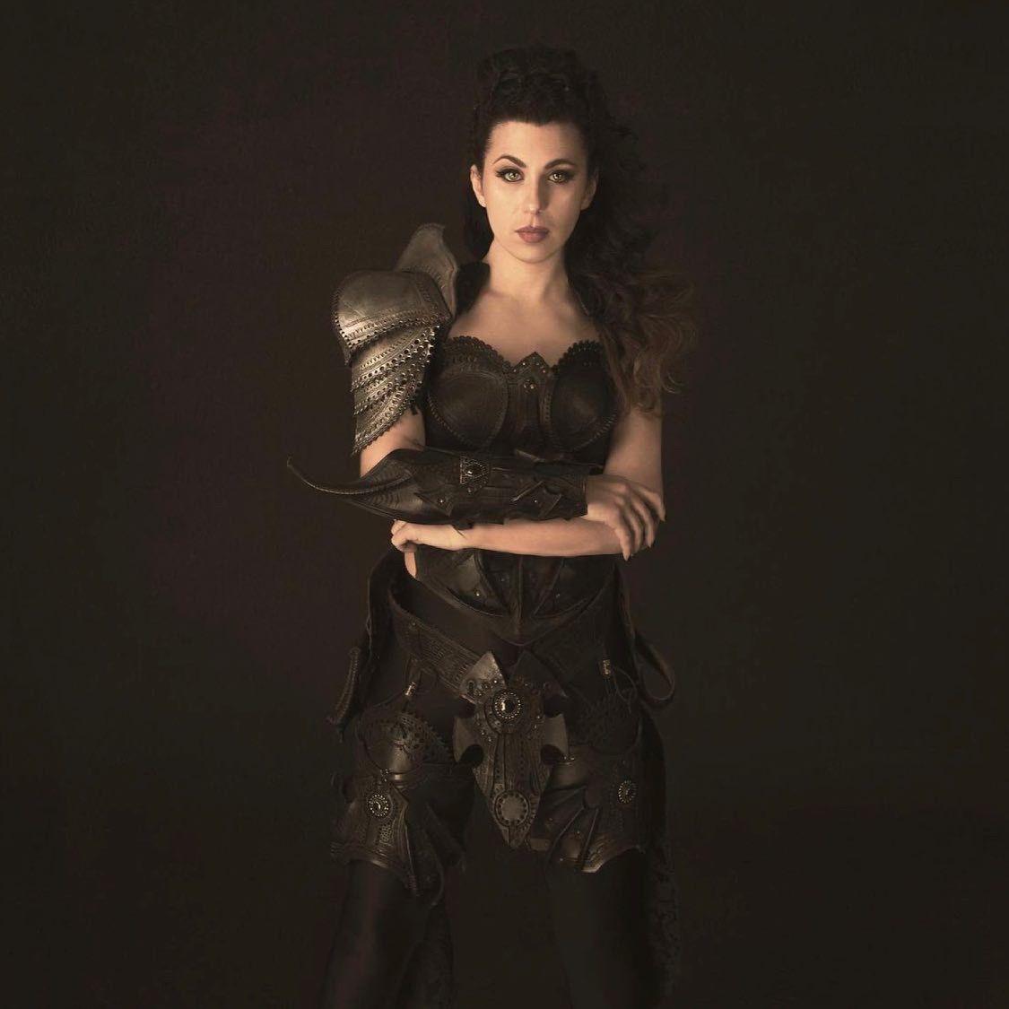 Melissa marcello, la guerriera, autoritratto (2021)