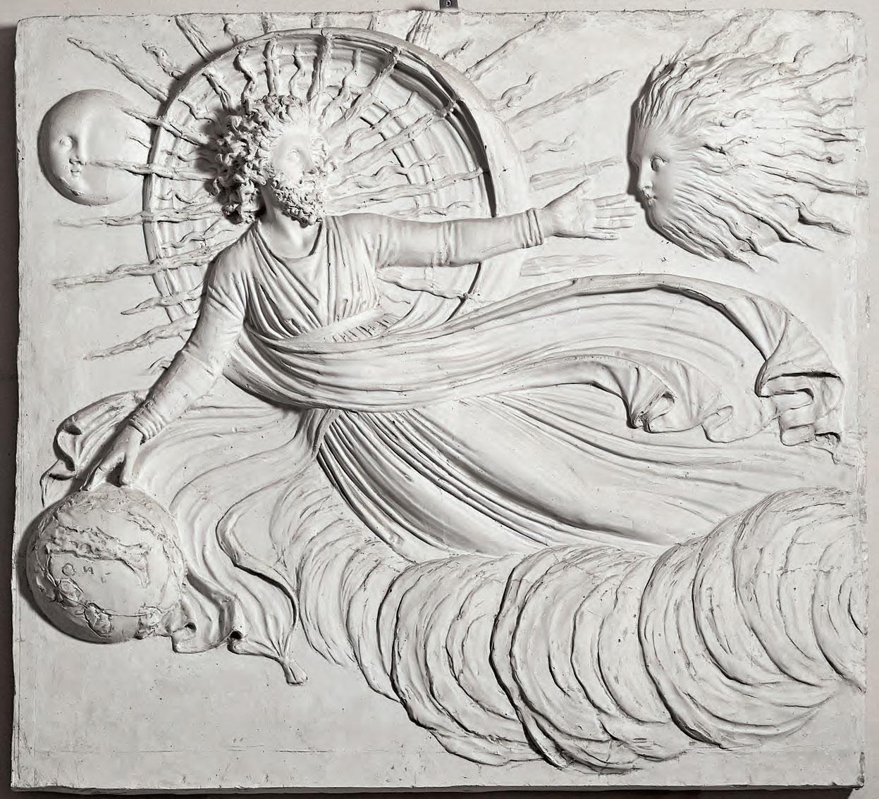 Antonio Canova, La Creazione del Mondo (1820-1822 circa; gesso, 104 x 116 cm; Possagno, Fondazione Canova onlus)
