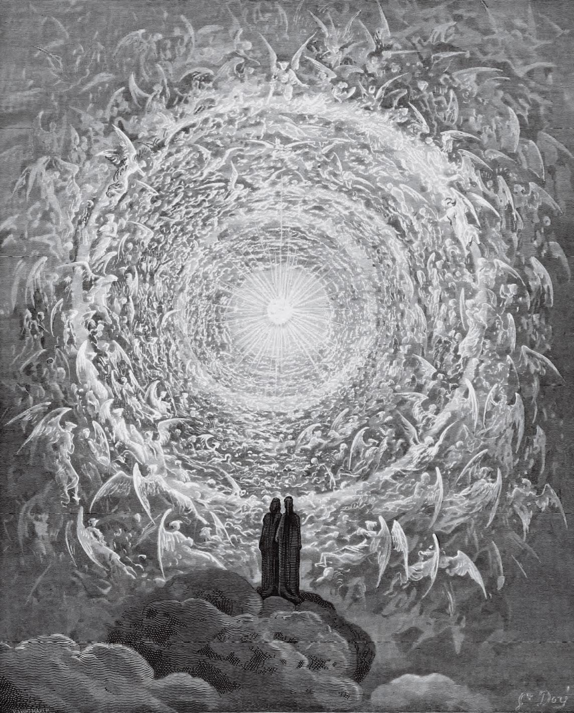 Gustave Doré, Le Purgatoire et le Paradis de Dante Alighieri avec les dessins de Gustave Doré, Librairie Hachette et Cie., Paris (1868; collezione privata)