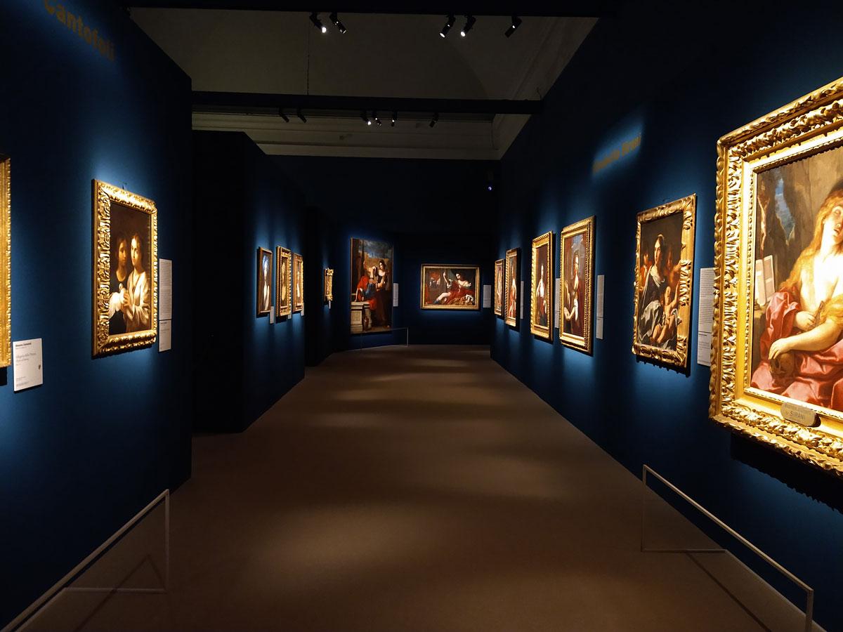 Sala della mostra