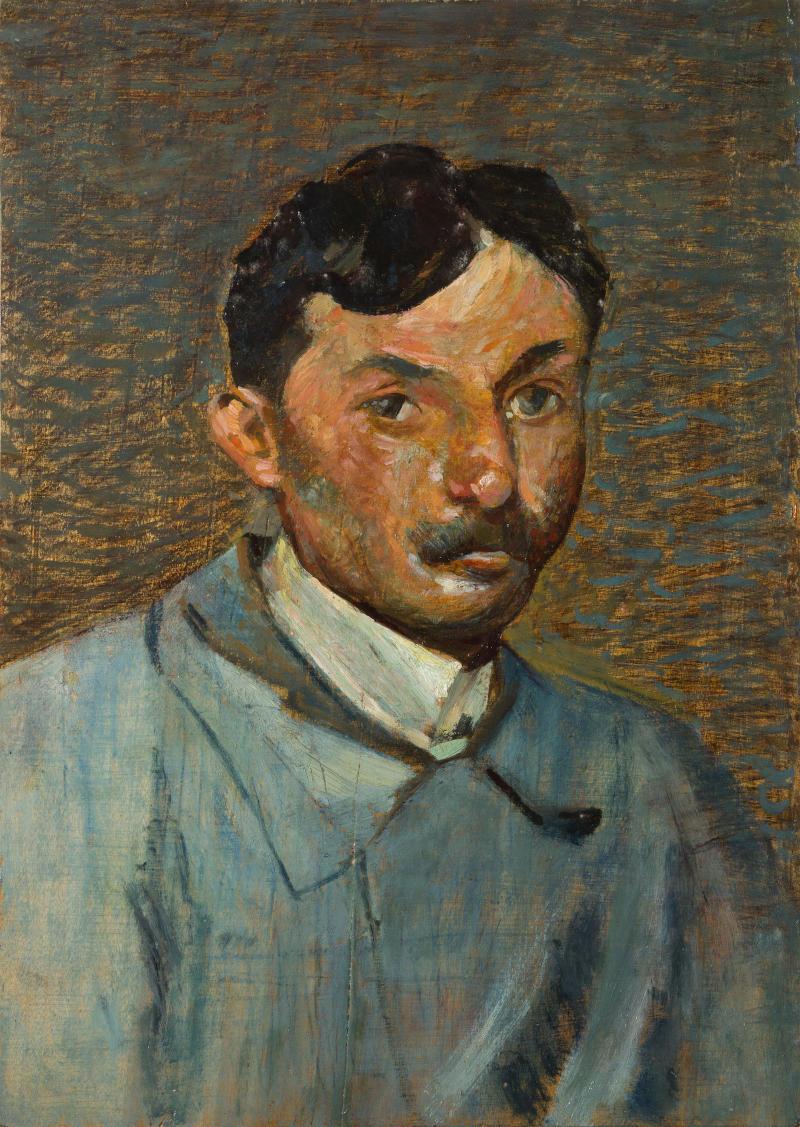 Mario Puccini, Autoritratto (1914; collezione privata)