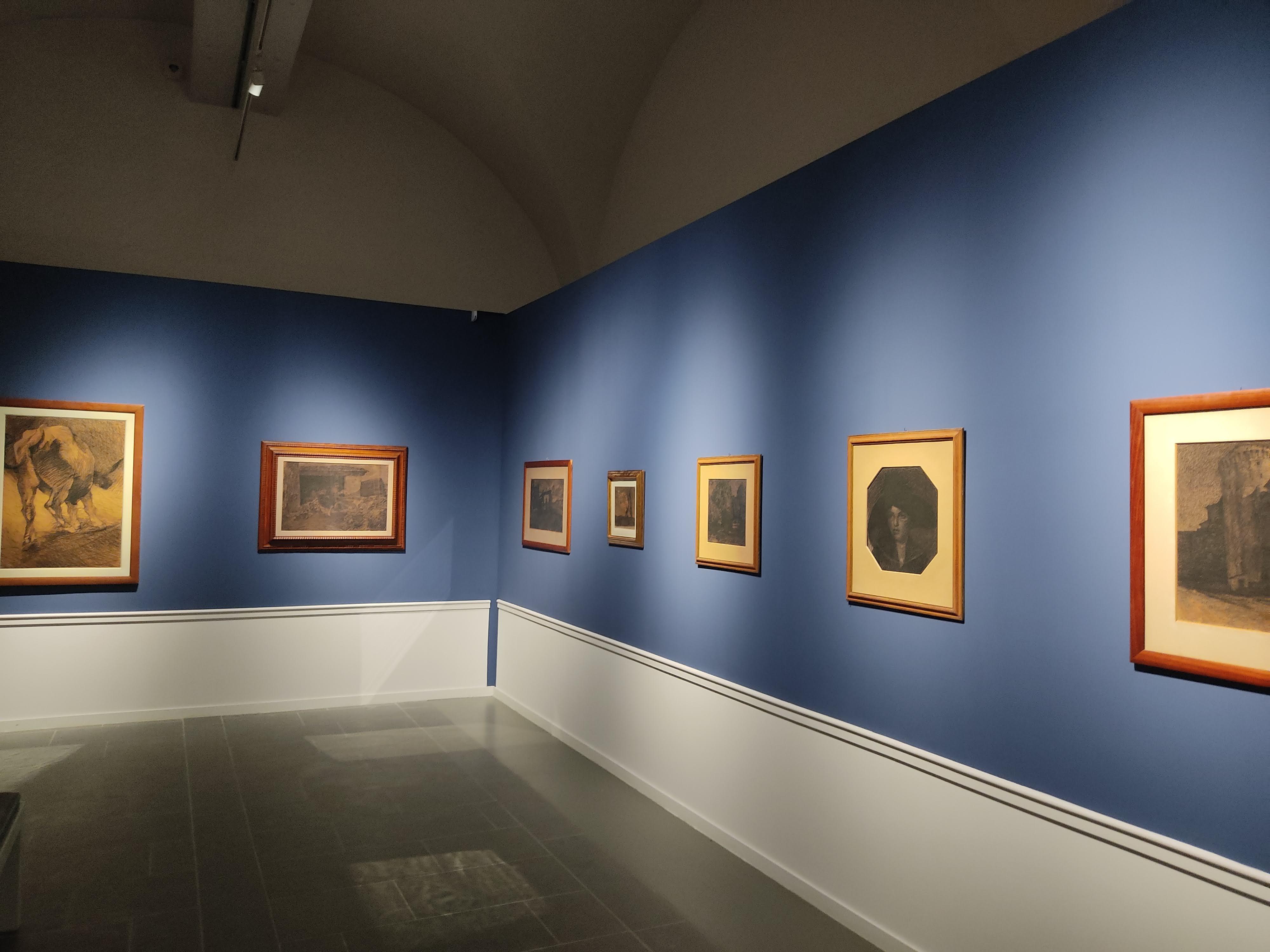 La sala della grafica di Puccini