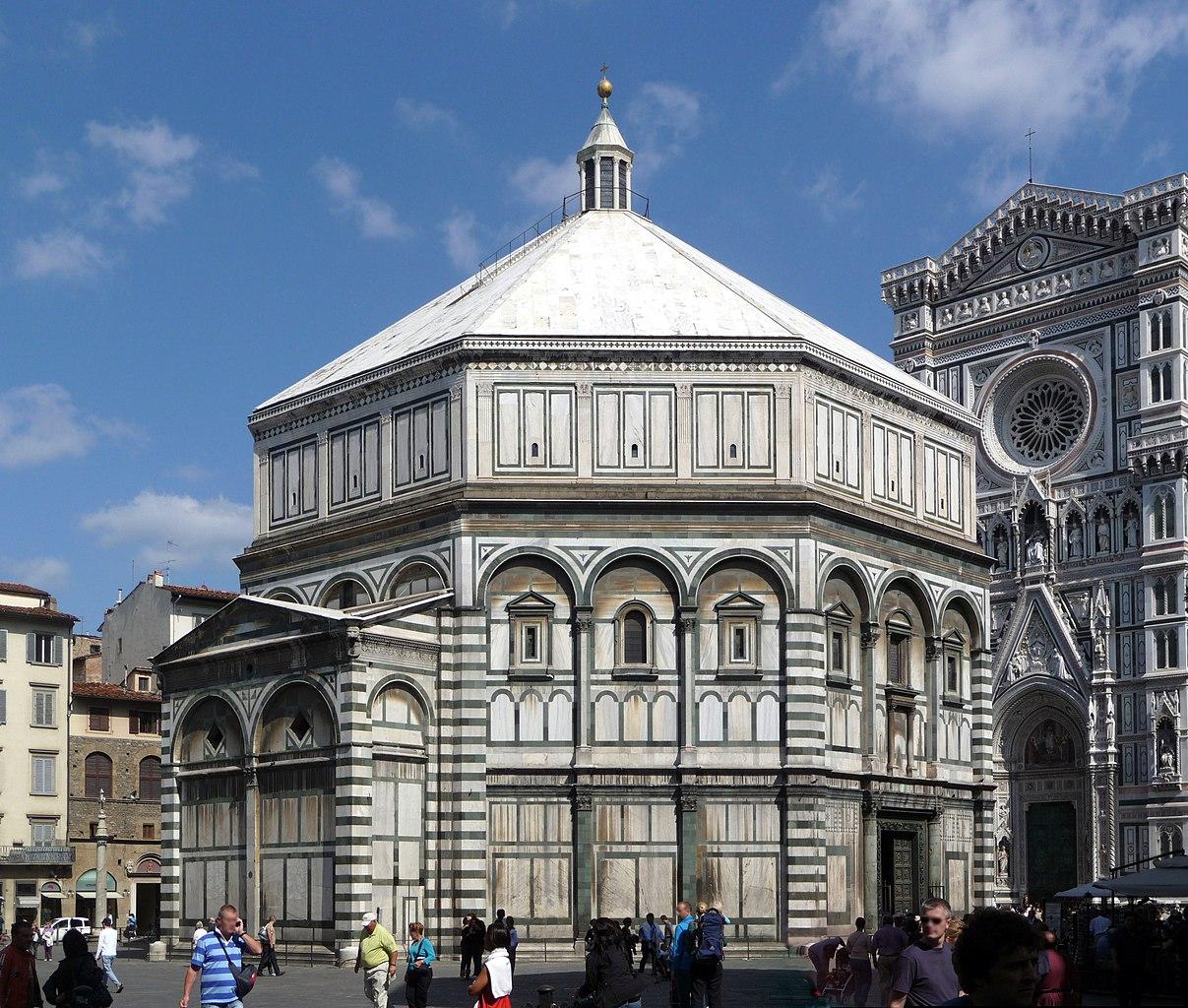 Il Battistero di Firenze. Foto Lucarelli