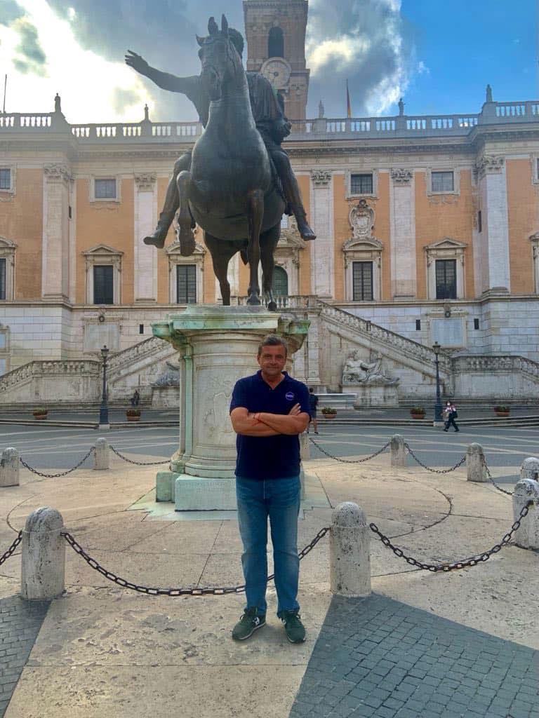 Carlo Calenda al Campidoglio